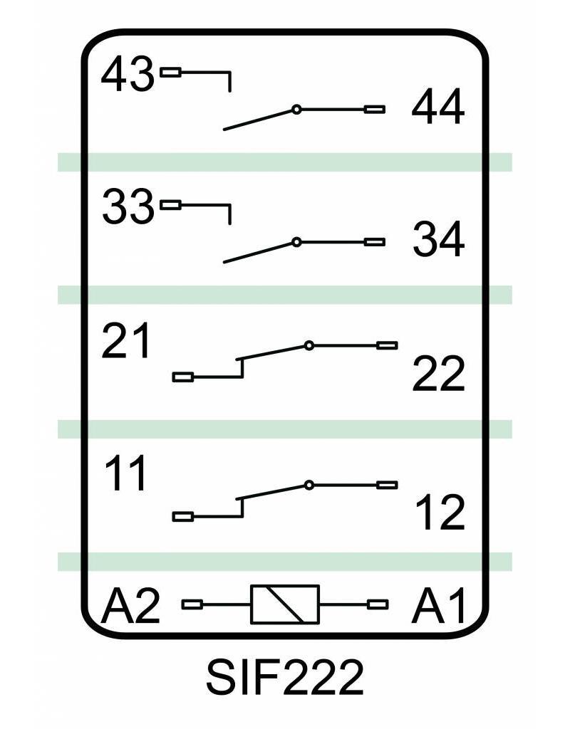 ELESTA relays SIF 4 Series - SIF 222