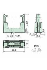 ELESTA relays PCB socket SRP-SIM4