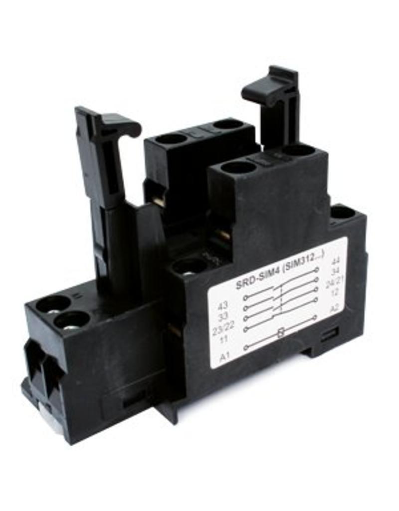 ELESTA relays DIN rail socket SRD-SIM4