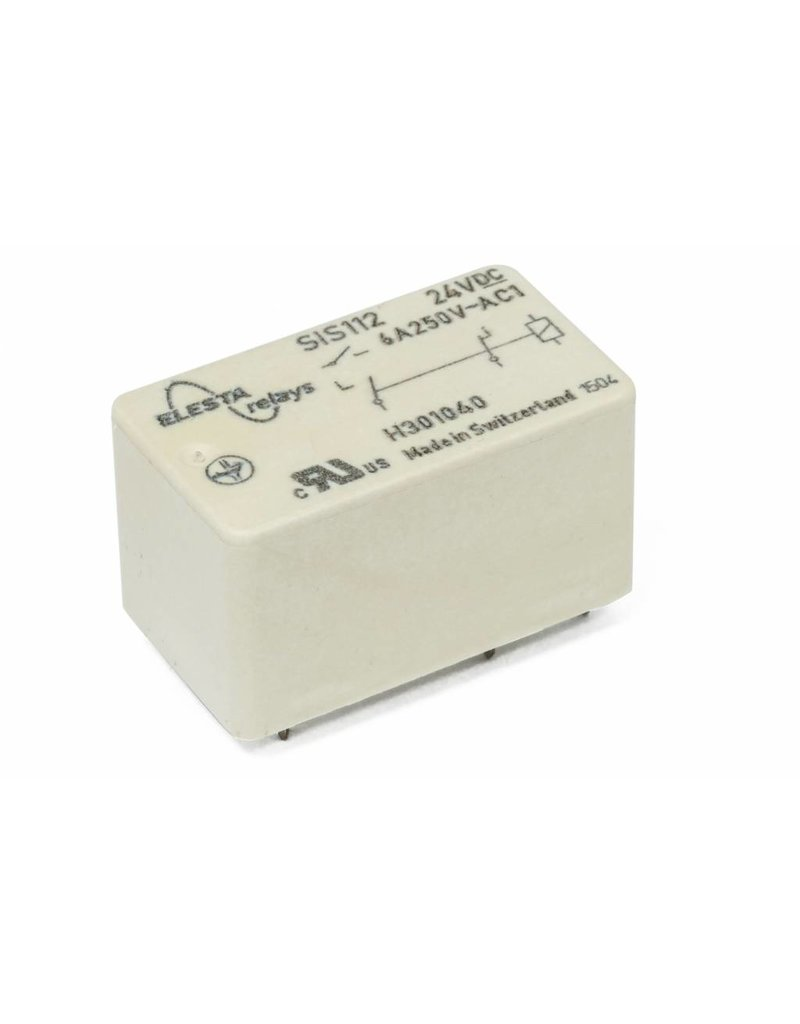 ELESTA relays SIS 2 Series - SIS 112 L38 with longer pins