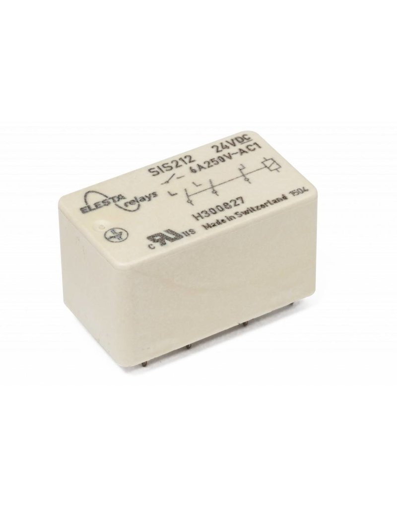 ELESTA relays SIS 3 Series - SIS 212 L38 with longer pins