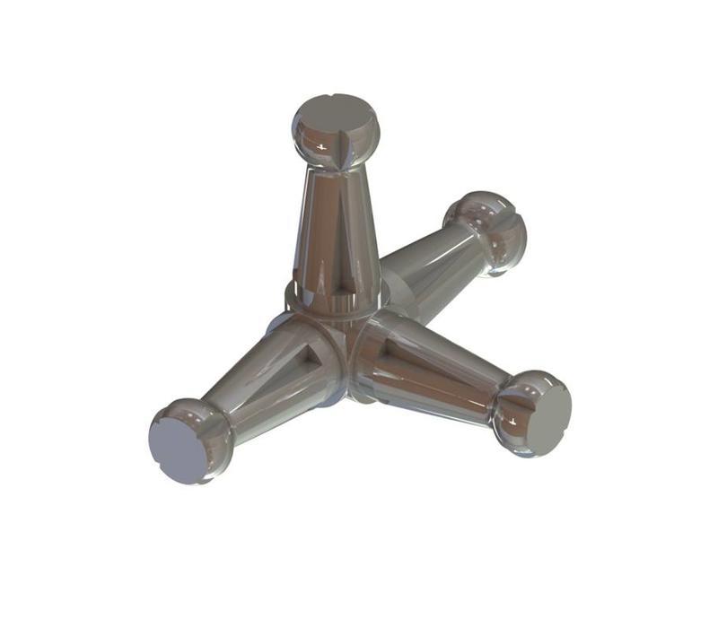 4T T-junction connecter