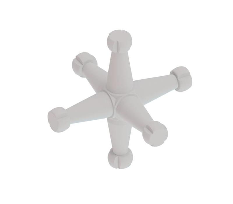 6T Cross connector