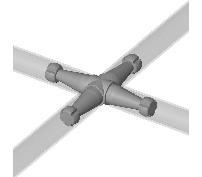4P Cross connector