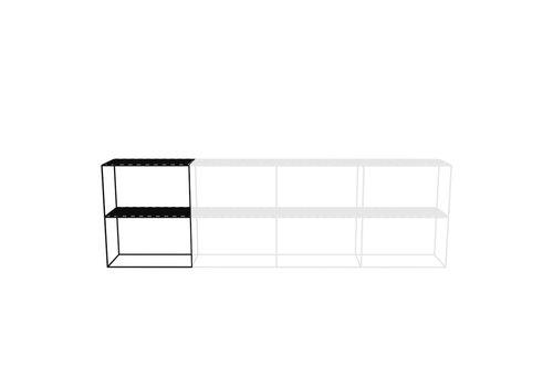 Abstracta Cabinet RH 21 Black