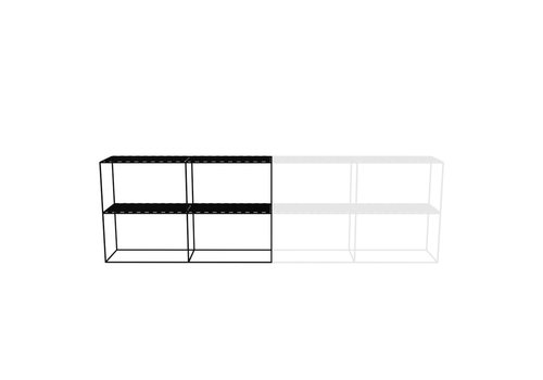 Cabinet Rectangle 3 Columns Wide 2 High Abstracta System Nl
