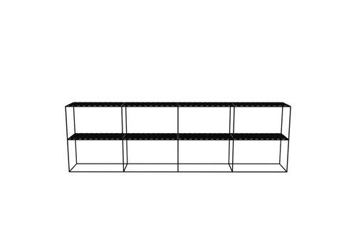 Abstracta Cabinet RH 24 Black