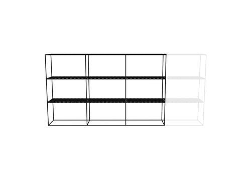 Abstracta Cabinet RH 33 Black