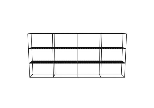 Abstracta Cabinet RH 34 Black
