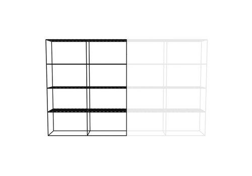 Abstracta Cabinet RH 42 Black