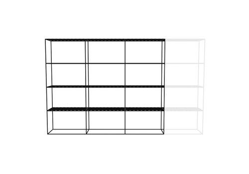 Abstracta Cabinet RH 43 Black