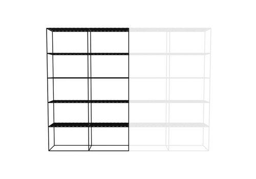 Abstracta Cabinet RH 52 Black