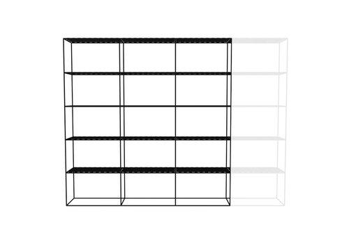 Abstracta Cabinet RH 53 Black