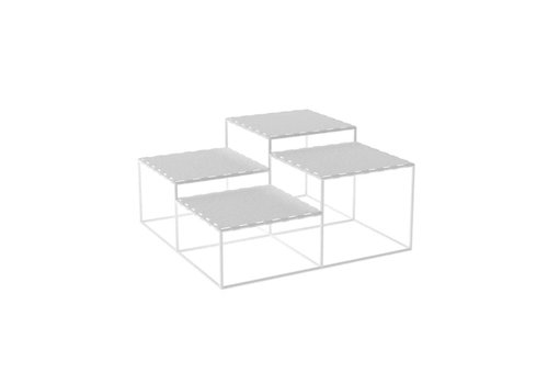 Abstracta Coffee table VK44 White