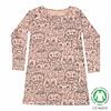 Soft Gallery Soft Gallery- owl -pyjama-dress-pink