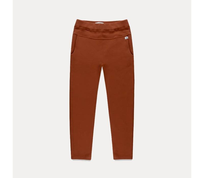 Repose AMS Sweatpants tapered chestnut