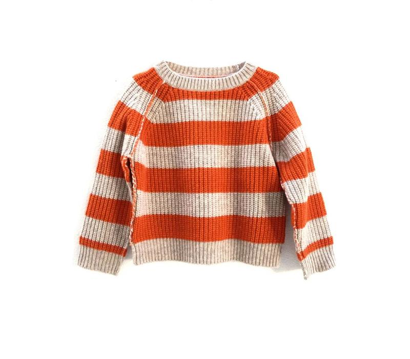 Long Live the Queen striped sweater