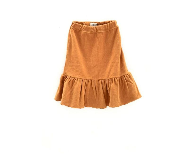 Long Live the Queen terry skirt gold