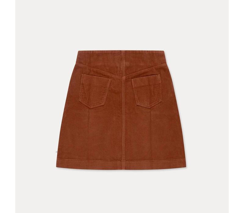 Repose AMS A-Line skirt chestnut