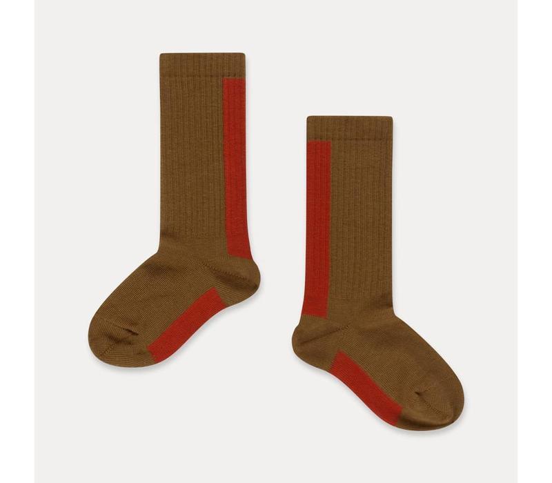 Repose AMS Socks golden sun stripe