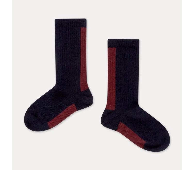 Repose AMS Socks classic blue stripe