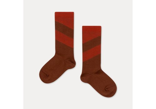 Repose AMS Repose AMS - socks warm pecan diagonal