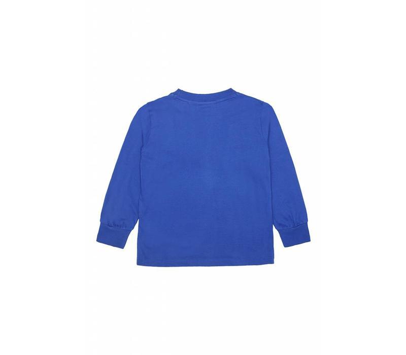 Soft Gallery Benson t-shirt LS Blue