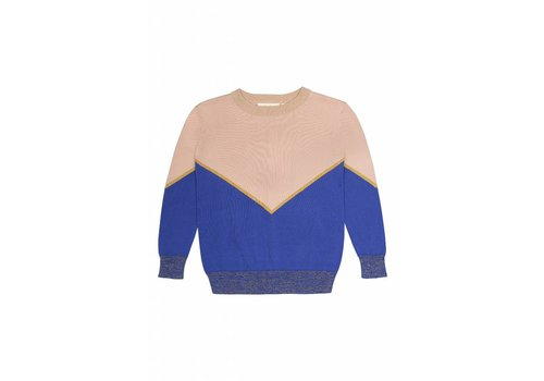 Soft Gallery Soft Gallery Leonia Top tri Color knit