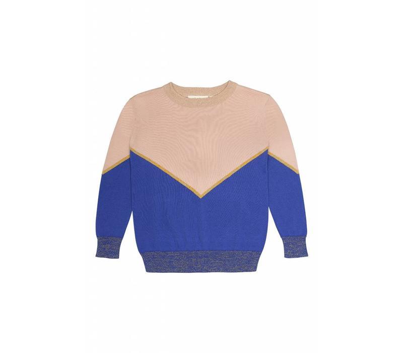 Soft Gallery Leonia Top tri Color knit - ec94c09f68ec7