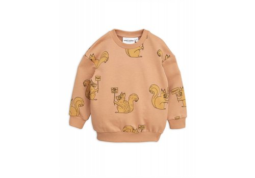Mini Rodini Mini Rodini Squirrel sweatshirt