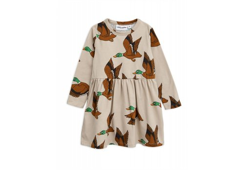 Mini Rodini Mini Rodini Duck AOP Dress