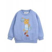 Mini Rodini Cheercat Sweatshirt blue