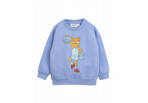 Mini Rodini Mini Rodini Cheercat Sweatshirt blue