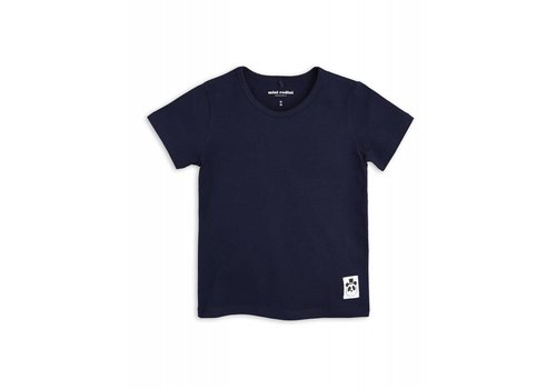 Mini Rodini Mini Rodini Basic tee Navy
