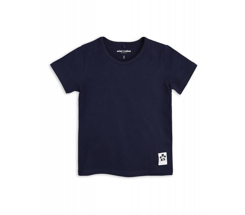 Mini Rodini Basic tee Navy