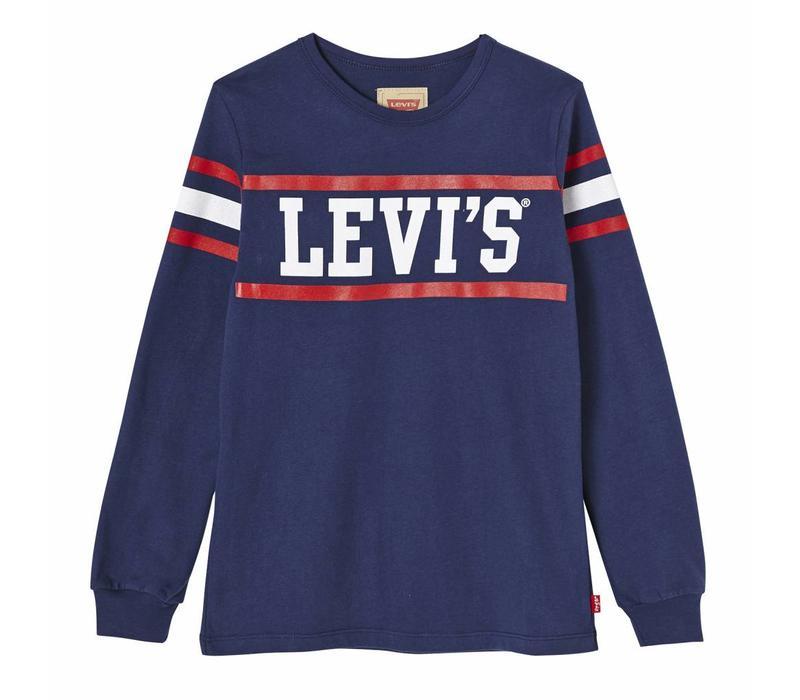 Levis Logo LS Blue J