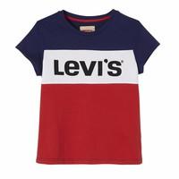 Levis Logo Stripe Blue /Red M