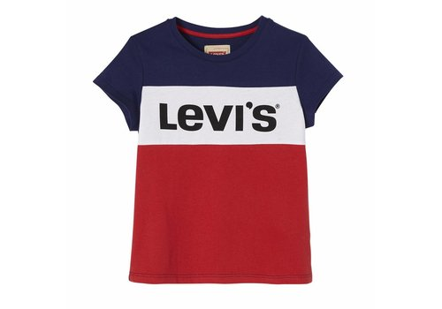 Levis Levis Logo Stripe Blue /Red M