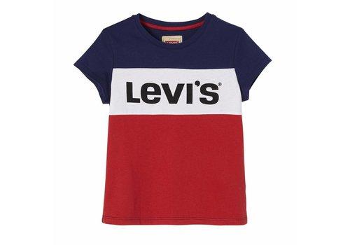 Levis Levis Logo Stipe Blue/Red TM
