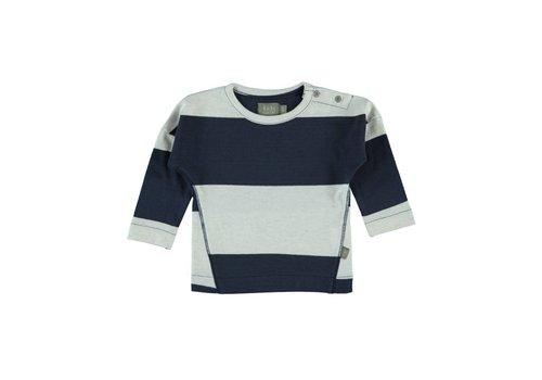 Kidscase Kidscase Luke t-shirt offwhite / dark blue