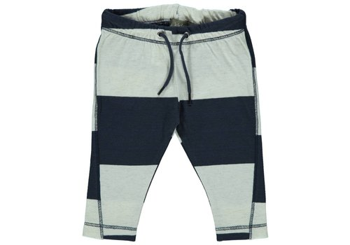 Kidscase Kidscase Luke pants off-white / dark blue