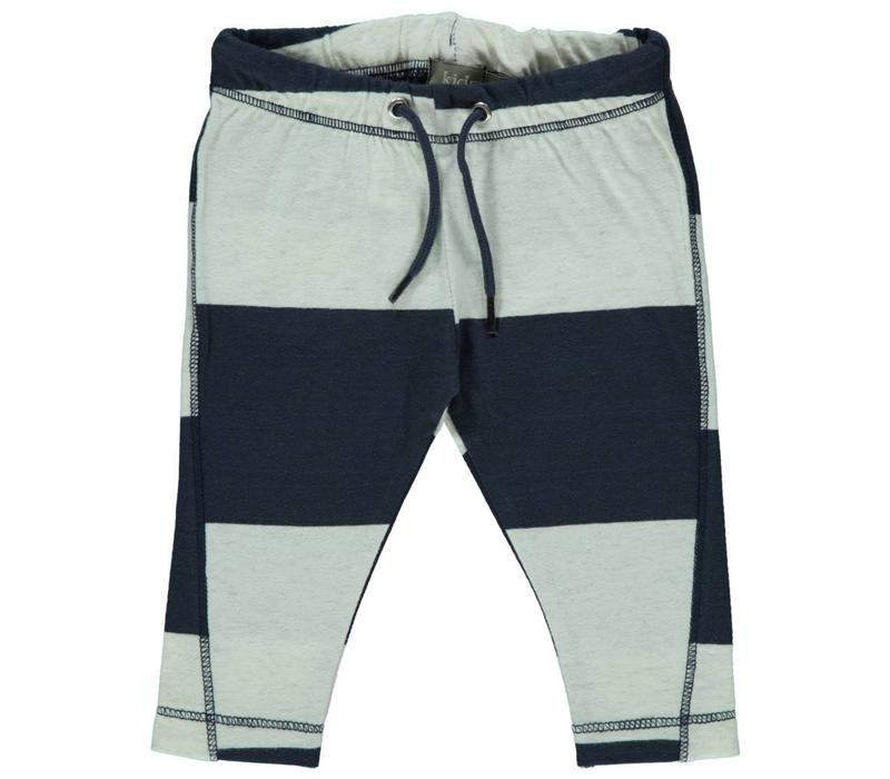 Kidscase Luke pants off-white / dark blue