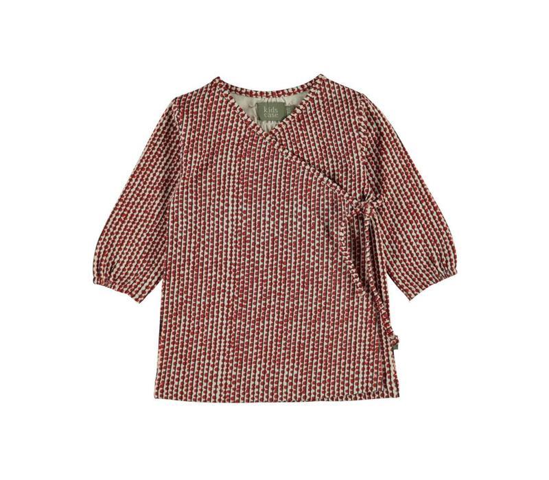 Kidscase Hazel dress red