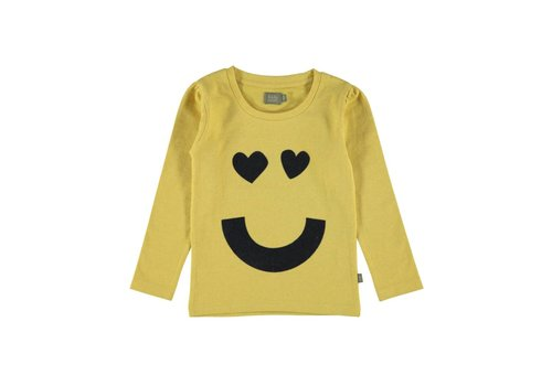Kidscase Kidscase Sam girls print t-shirt yellow