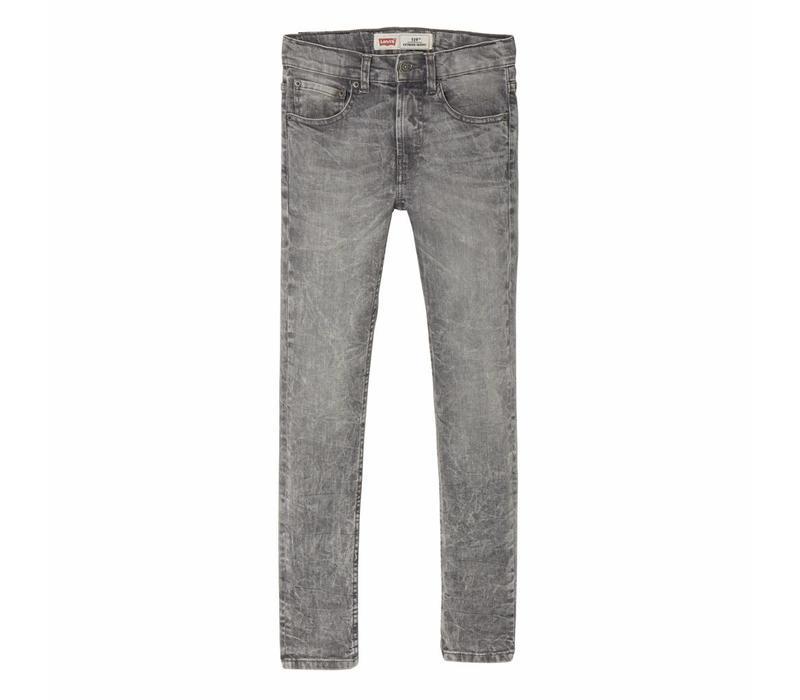Levis Jeans 519 skinny stretch grey J