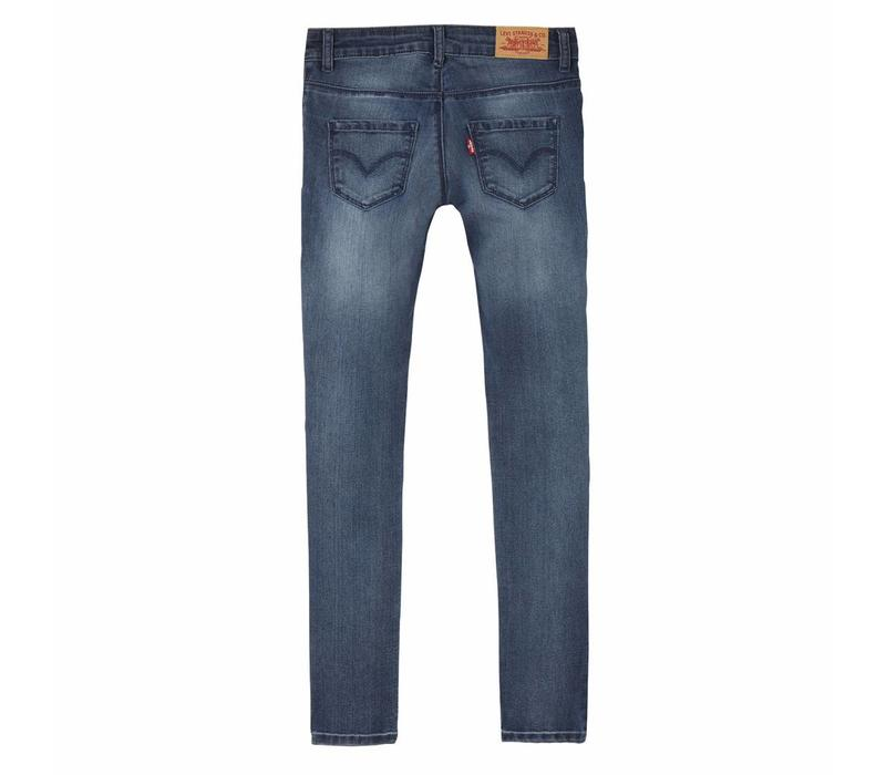 Levis Jeans 710 skinny stretch blue G