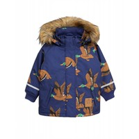 Mini Rodini Duck parka navy