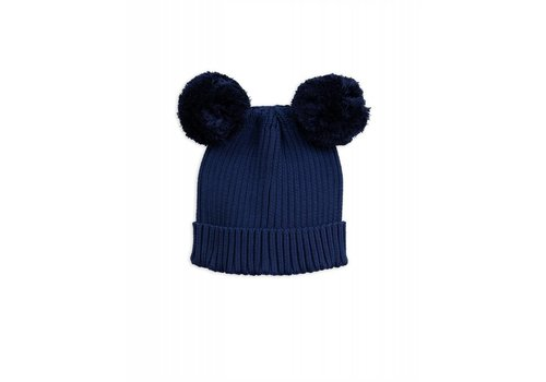 Mini Rodini Mini Rodini Ear hat navy