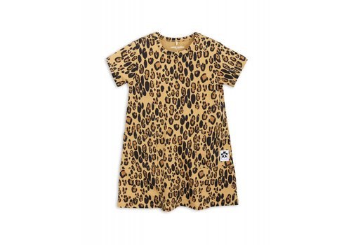 Mini Rodini Mini Rodini Dress Leopard