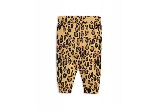 Mini Rodini Mini Rodini basic leopard newborn legging